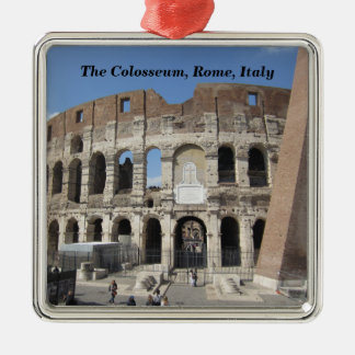 The Colosseum in Rome, Italy Metal Ornament