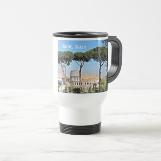 The Colosseum in Rome, Italy Travel Mug