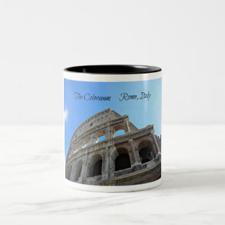 The Colosseum in Rome, Italy Two-Tone Coffee Mug