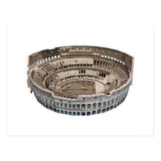 The Colosseum of Rome: 3D Model: Postcard