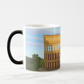 The Colosseum Of Rome Magic Mug