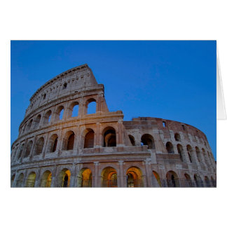 The Colosseum, originally the Flavian Amphitheater Card