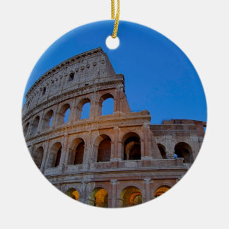 The Colosseum, originally the Flavian Amphitheater Ceramic Ornament
