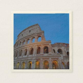 The Colosseum, originally the Flavian Amphitheater Paper Serviettes