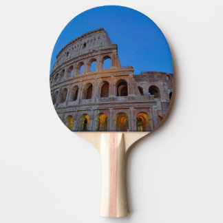 The Colosseum, originally the Flavian Amphitheater Ping Pong Paddle