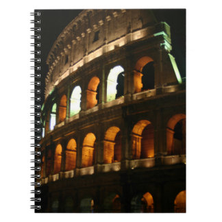 The Colosseum Spiral Notebooks
