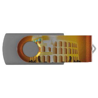 The Colosseum Swivel USB 2.0 Flash Drive