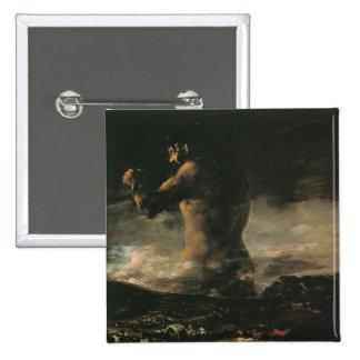 The Colossus, c.1808 15 Cm Square Badge