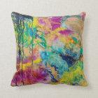 The Colour Of Joy MaryLea Harris Art Throw Pillow