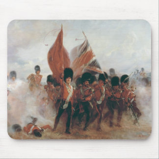 The Colours: advance of the Scots Guards Mouse Pad
