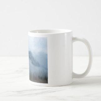 The Columbia Gorge In The Fog Coffee Mug