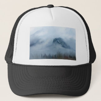 The Columbia Gorge In The Fog Trucker Hat