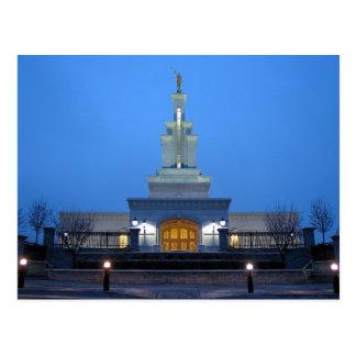 The Columbia River Washington LDS Temple Postcard