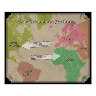 The Columbian Exchange Poster