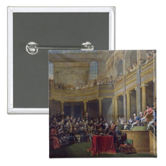The Committee of Lyon, 26th January 1802, 1808 15 Cm Square Badge