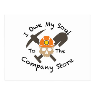 The Company Store Postcard