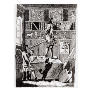 The complicated Richardson, 1724 Postcard