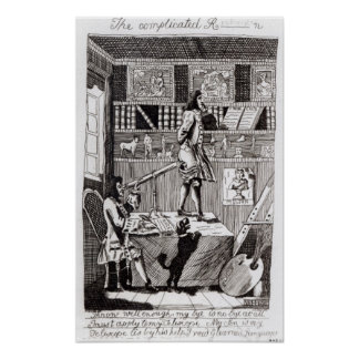The complicated Richardson, 1724 Poster