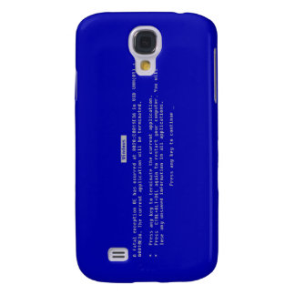 The Computer Blue Screen of Death Galaxy S4 Covers
