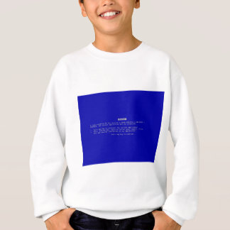 The Computer Blue Screen of Death Sweatshirt