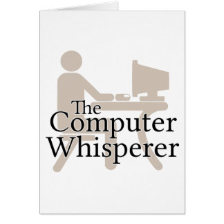 The Computer Whisperer Card