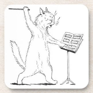 The Conductor Cat Coaster