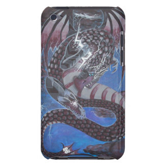 The Conductor thunderstorm dragon art iPod 4 case