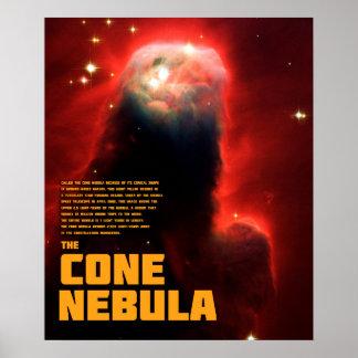 The Cone Nebula Poster