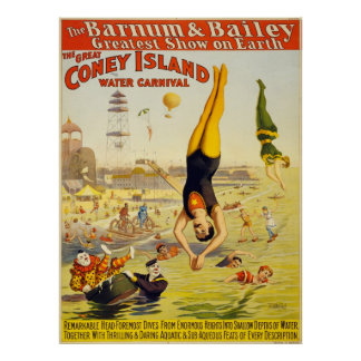 The Coney Island Water Carnival (2) Poster