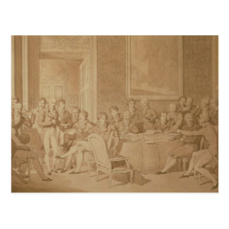The Congress of Vienna, 1815 Postcard