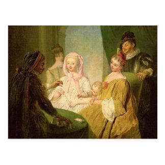 The Conjuror, 1720-25 Postcard