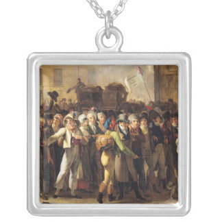 The Conscripts of 1807 Silver Plated Necklace