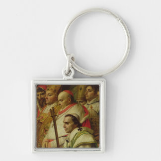 The Consecration of the Emperor Napoleon Keychain