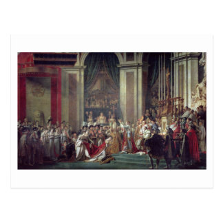 The Consecration of the Emperor Napoleon Postcard