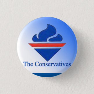 The Conservatives Old Logo 3 Cm Round Badge