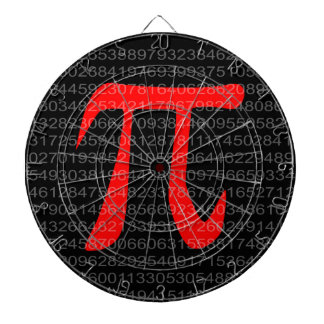 The Constant Pi Dartboard