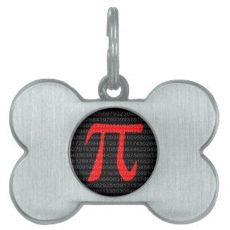 The Constant Pi Pet ID Tag