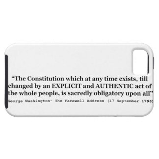 The Constitution is Sacredly Obligatory Upon All iPhone 5 Cases