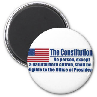 The Constitution Says Magnet