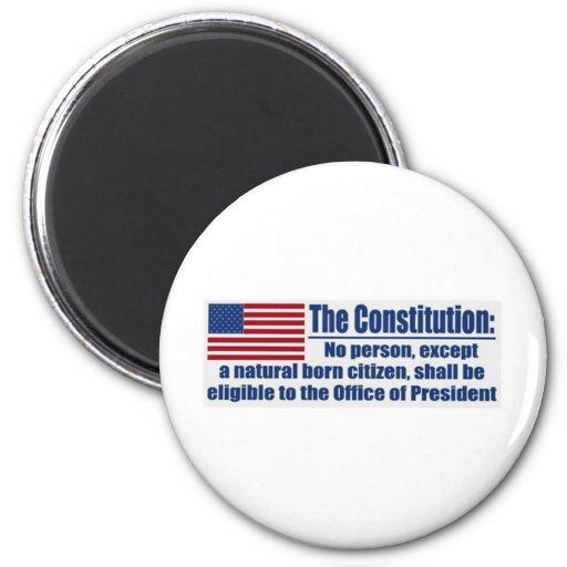 The Constitution Says.... Fridge Magnet