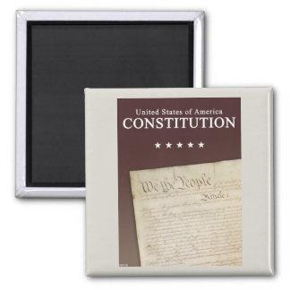 The Constitution Square Magnet