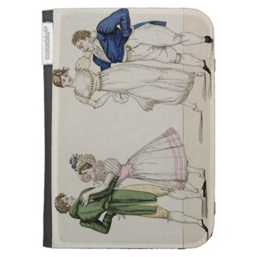 The Contrasts, plate 24 from 'Le Bon Genre', 1811 Kindle 3G Cases