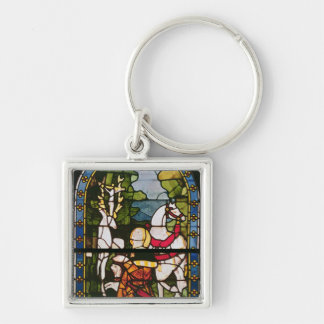 The Conversion of St. Eustace Key Ring