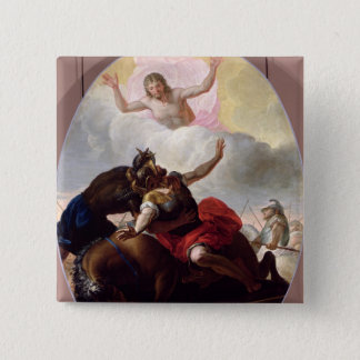 The Conversion of St. Paul 15 Cm Square Badge