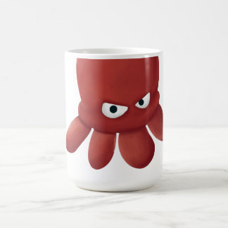 The cool 4 legs red angry octopus mug
