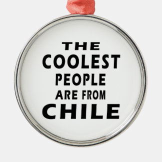 The Coolest People Are From Chile Christmas Tree Ornament