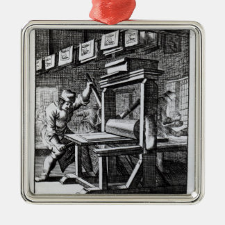 The Copper-plate Engraver, from 'Iets voor Metal Ornament