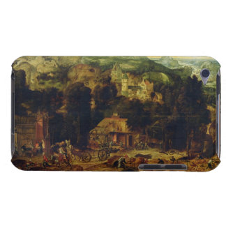 The Coppermine (oil on panel) iPod Touch Cover
