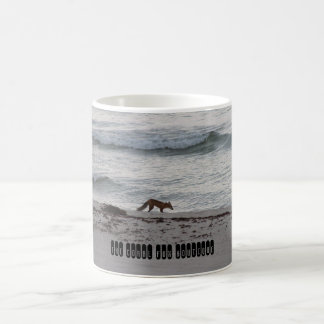 The Coral Fox Beach Mug