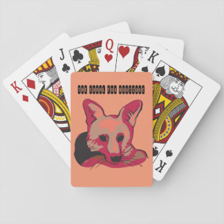 The Coral Fox Boutique Playing Cards